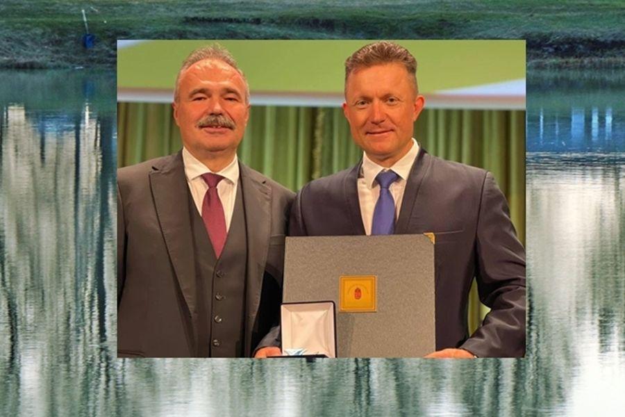 Miniszteri kitüntetést kapott Döme Gábor