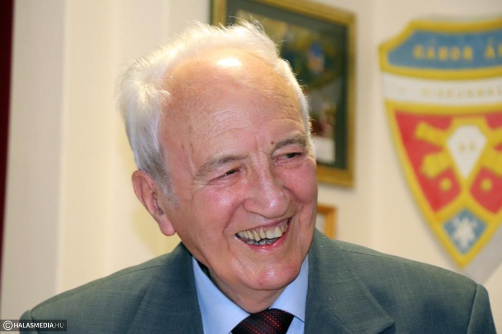 A 90 esztendős Gál Mihályt köszöntötték (galéria)