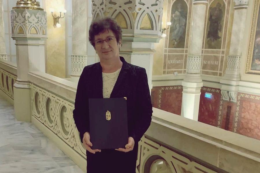 Miniszteri elismerést kapott Szabados Sándorné