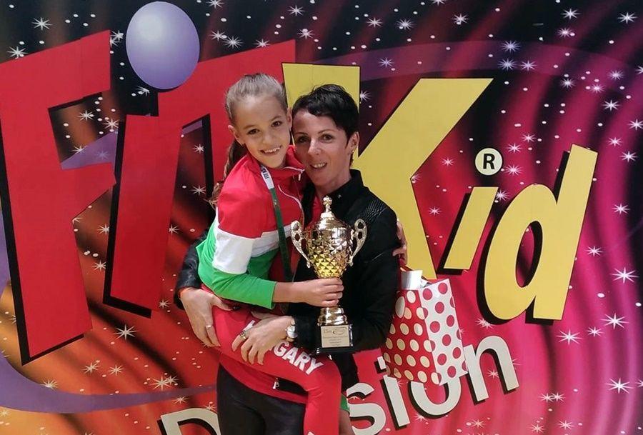 Léna aranyérmes az Európa Kupán