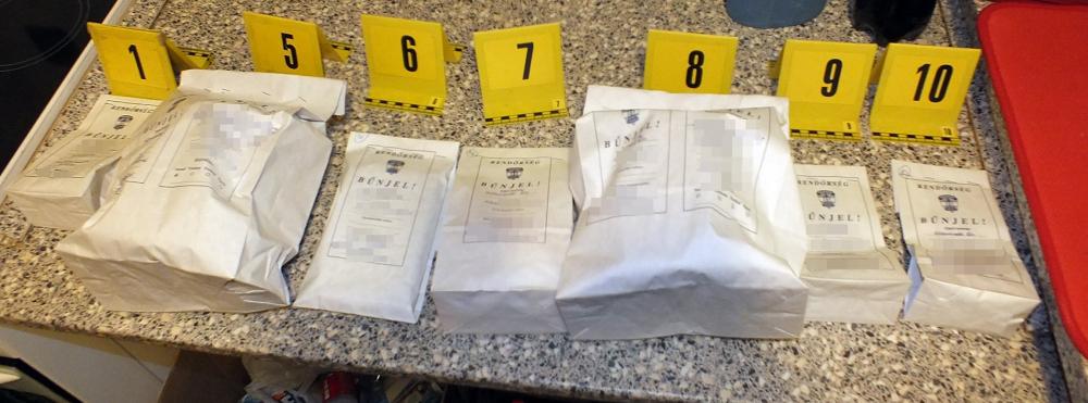 Halasi drogkereskedők őrizetben