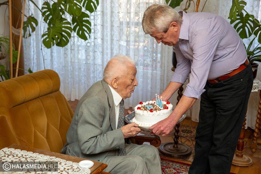 Századik születésnapját ünnepelte Vastag Sándor