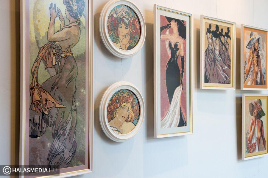 Tűvel festett képek (galéria)