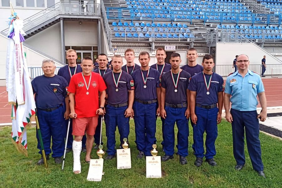 Halasi érmek az országos tűzoltósport-versenyen
