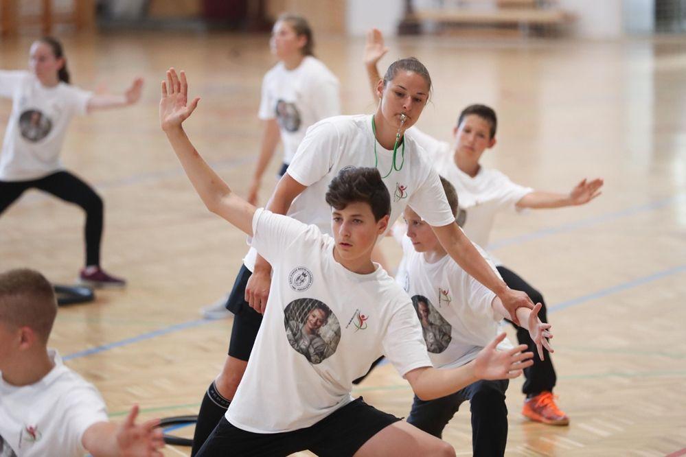 Négy halasi játékos az I. Szikora Melinda Kapustáborban