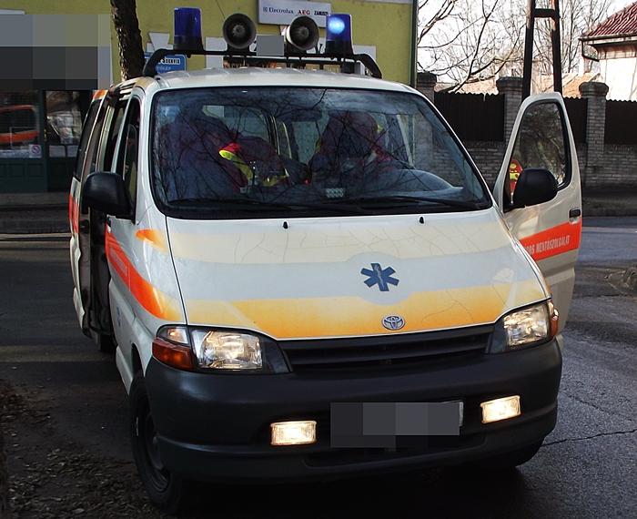 Szandra átverte a mentőket