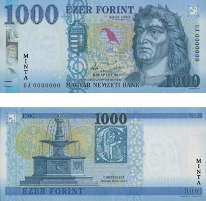 Megújul az ezres bankjegy is