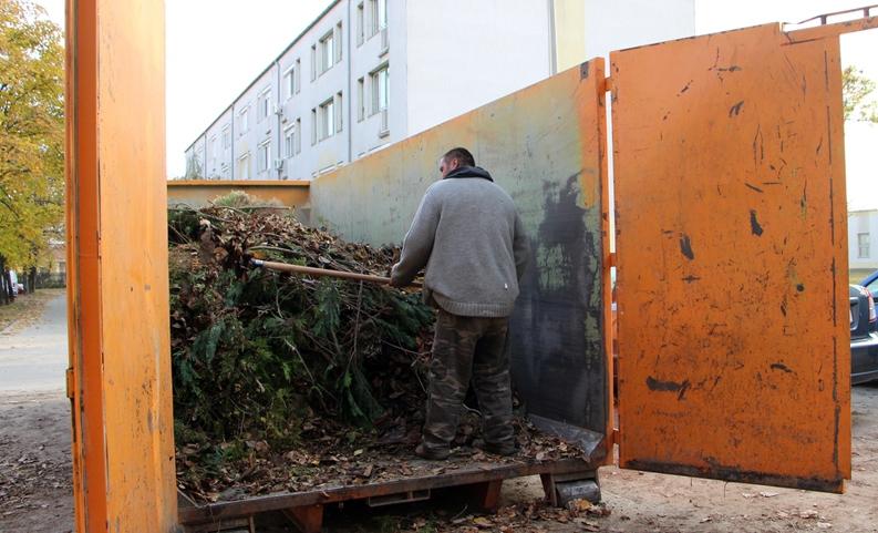 Péntektől vasárnapig falevél-gyűjtési akció lesz