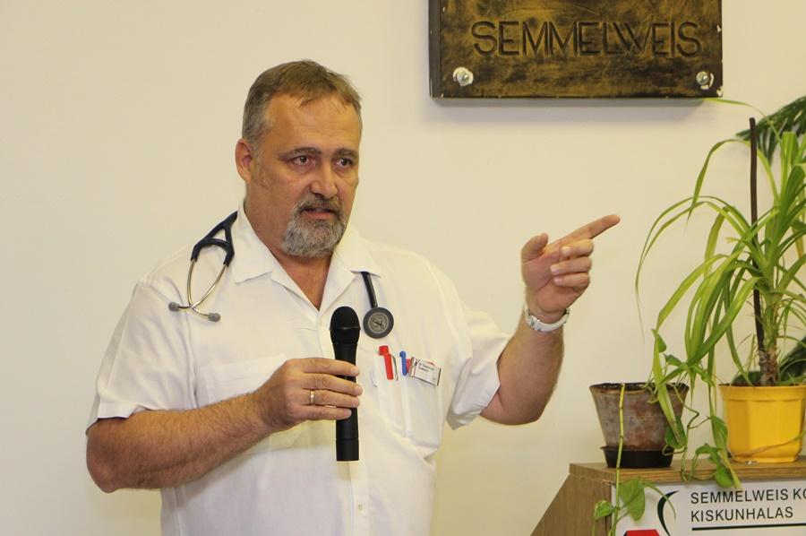 Dr. Szepesvári Szabolcs a kórház új főigazgatója
