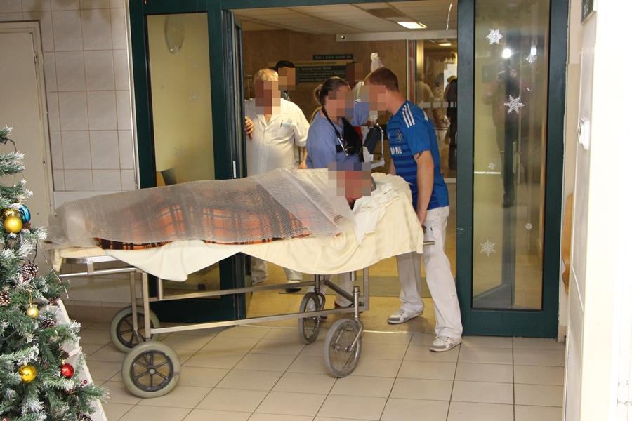 Több száz beteg a sürgősségin az ünnepek alatt