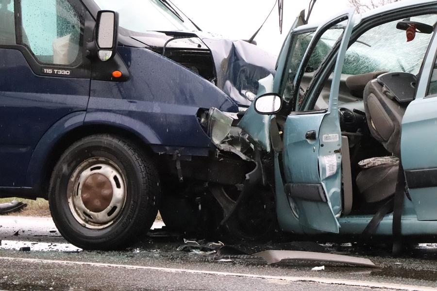 Súlyos baleset Kiskunhalas közelében (galéria)