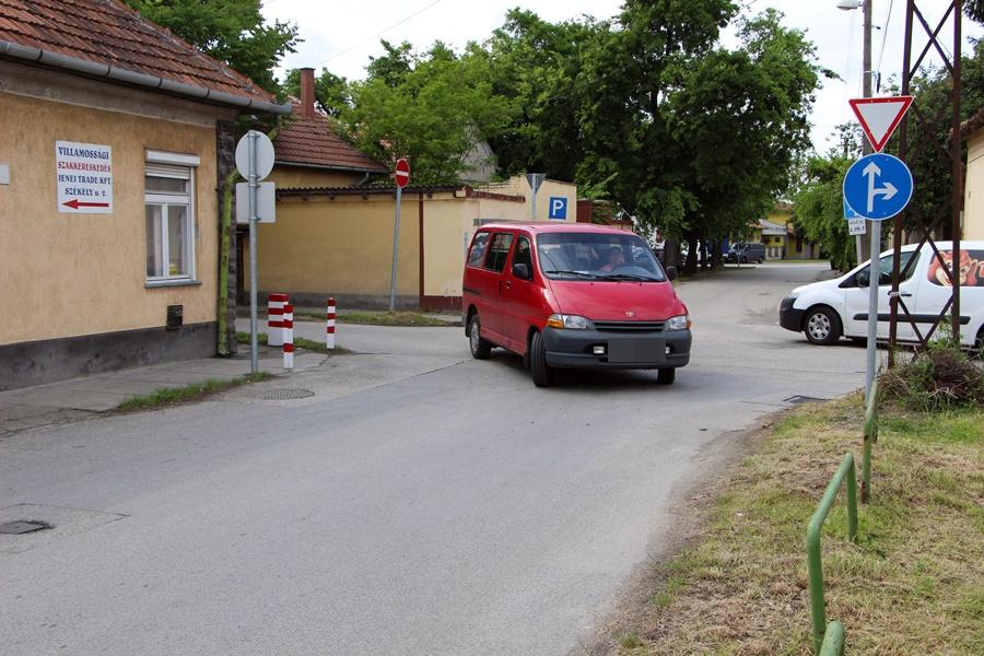 (►) Székely utca: mától forgalmirend-változás