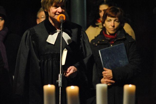 Advent gyertyafényes ünnepvárása