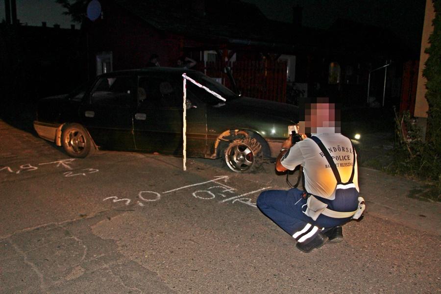 Ámokfutó autóst fogtak Halason (frissítve)