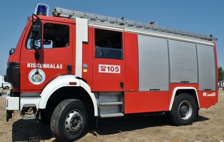 Gyújtogatás-gyanú és baleset: szilveszter a halasi tűzoltóknál