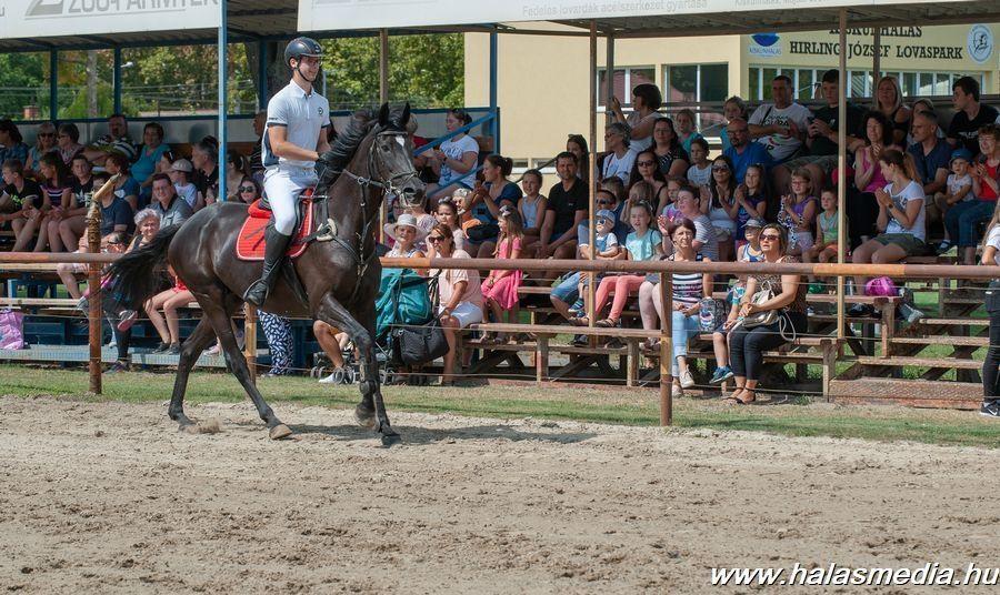 A lovasparkban programokkal várták az ünneplő halasiakat (galéria)