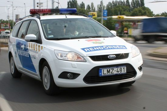 Autósüldözés Halason (frissítve)