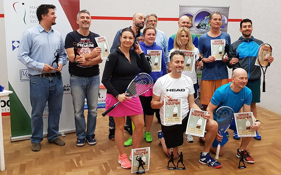 A Senior Squash Ranglista Kupa eredményei