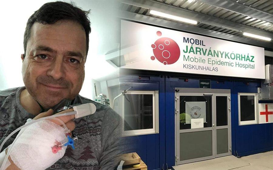 """Bányai Gábor: """"megfertőződtem"""" – üzenet a kórházból"""