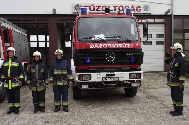 Hősi halált halt tűzoltókra emlékeztek