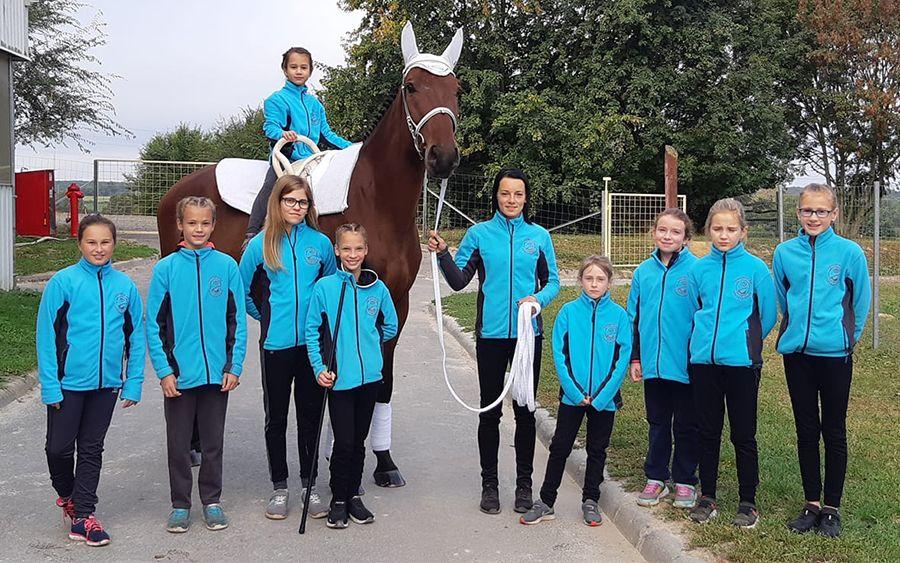 Magyar bajnok lovastornászunk Kocsis Linett