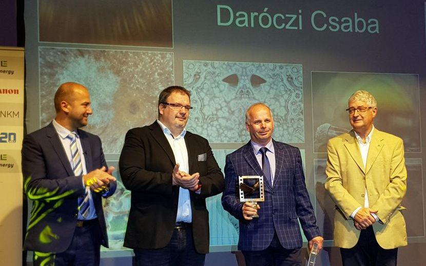 Daróczi Csaba ötödször év természetfotósa