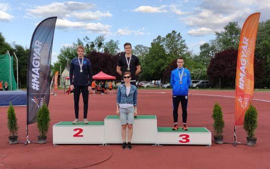 Jerémiás Donát U23-as magyar bajnok 800-on