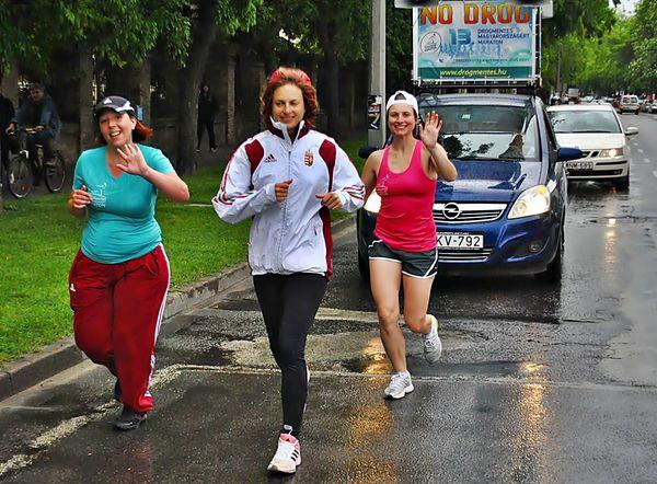 Halason a Drogmentes Maraton