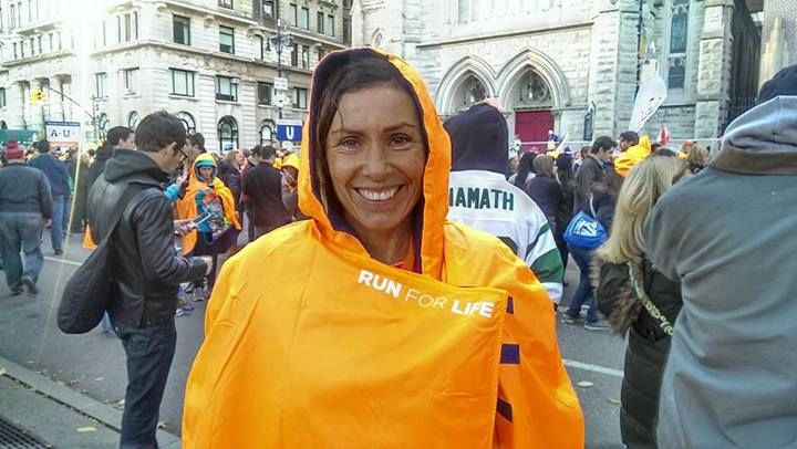 Erika lefutotta a New York-i maratont