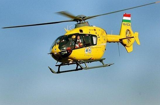 Halasra is az új mentőhelikopter repül