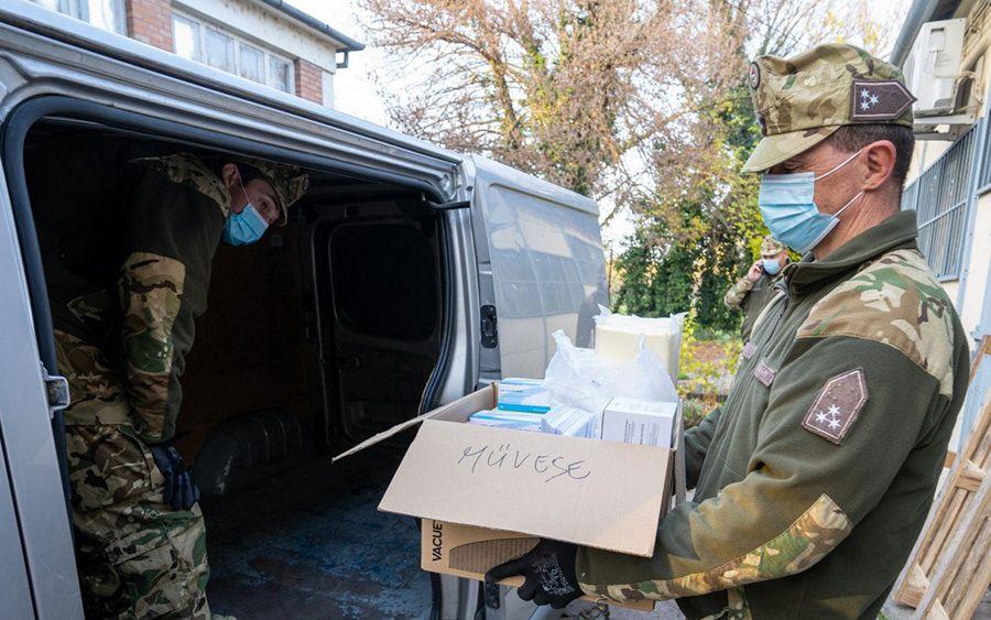 Honvédségi segítség a járványügyi feladatokban