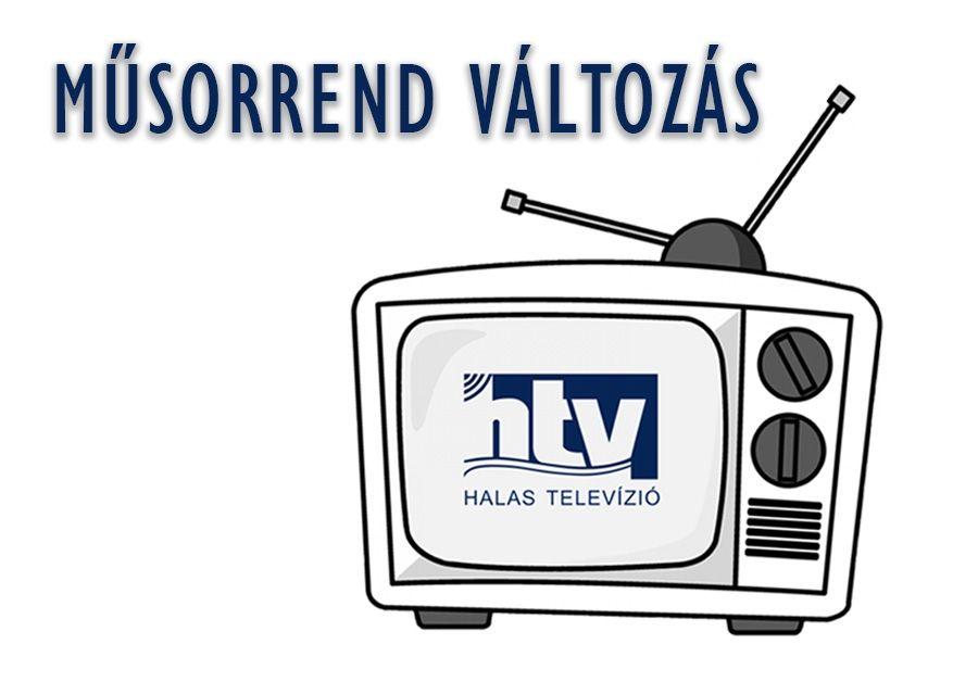 Változik a műsorrend a Halas Televízióban