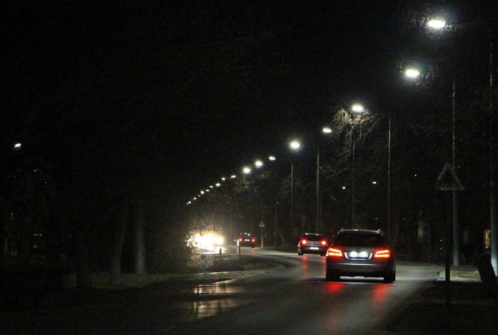 Már működik az új közvilágítás a Jókai utcán