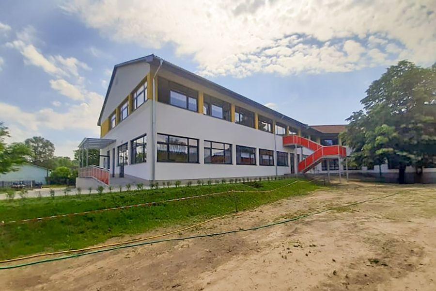 Új épületszárny a Kertvárosi Általános Iskolában