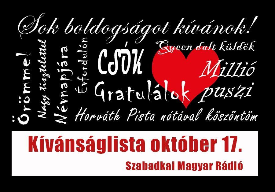 Dallista október 17-re