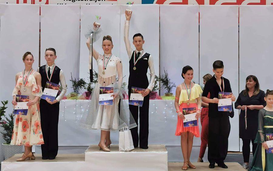 Hazai érmek, nemzetközi táncos sikerek