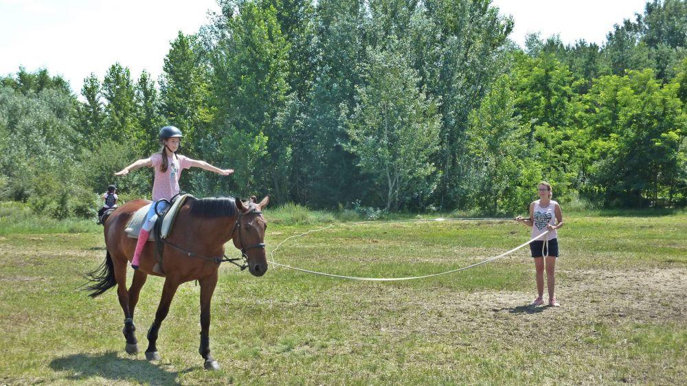 A lovas tornát is gyakorolják