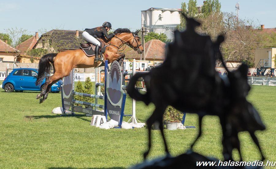 Pünkösdi lovasverseny, belépés a Szabó Ervin utca felől