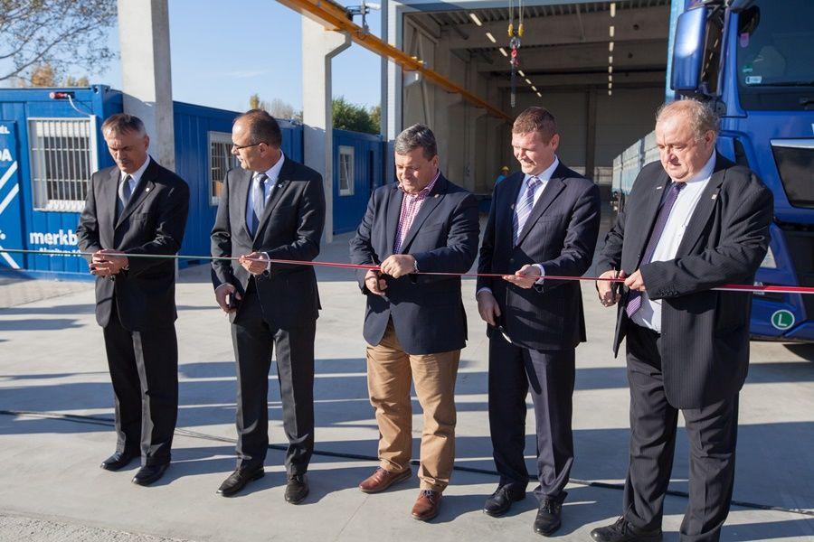 Átadták a Merkbau új betonacél üzemét (galériával)
