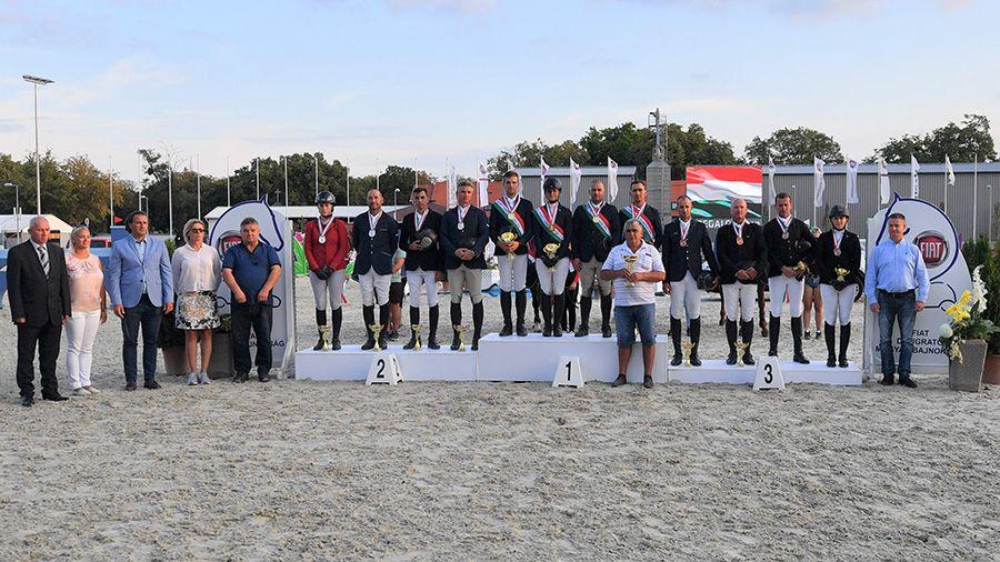 OB bronzos díjugrató csapatunk