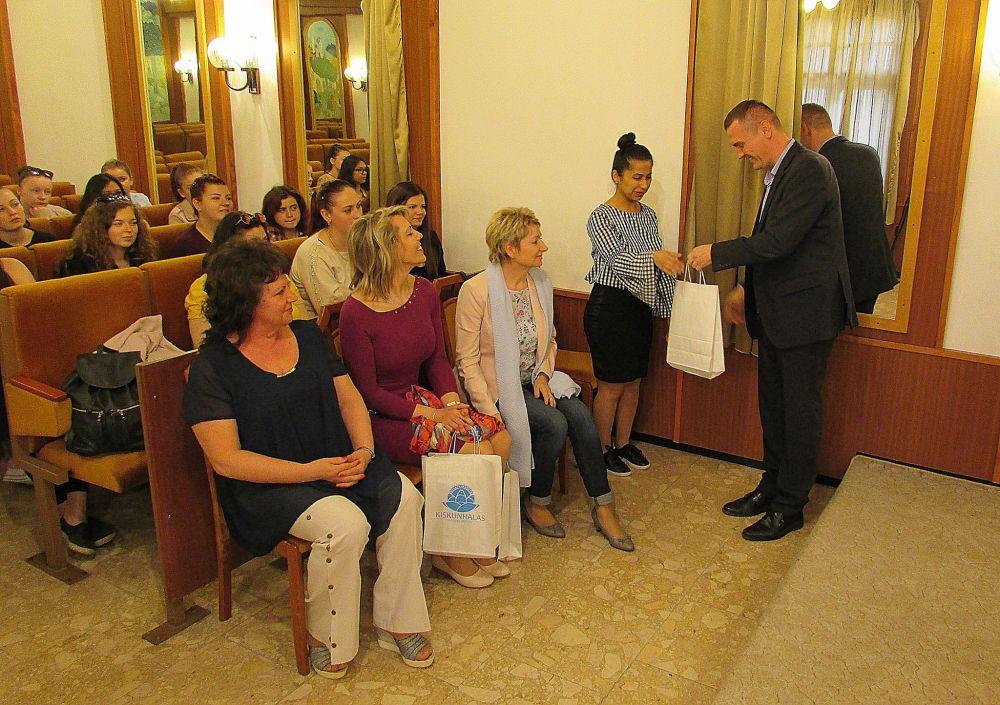 Rozsnyói vendégek a Városházán