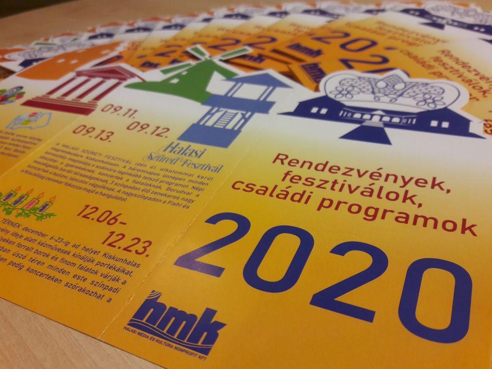 Megjelent az éves programkiadvány