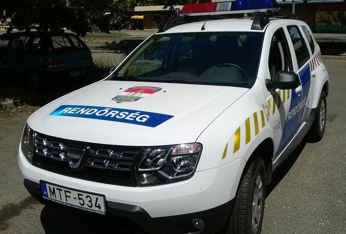Új rendőrségi terepjáró a falunak