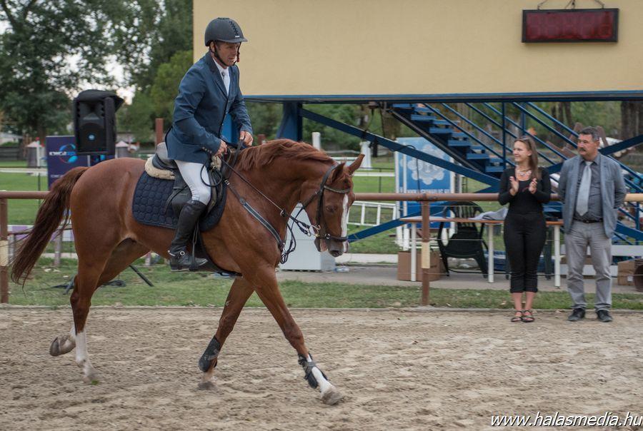 Magyar bajnok nyert Halason
