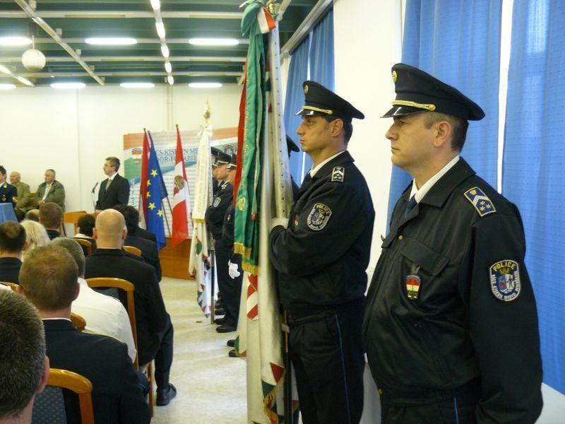 Kitüntetett halasi rendőrök