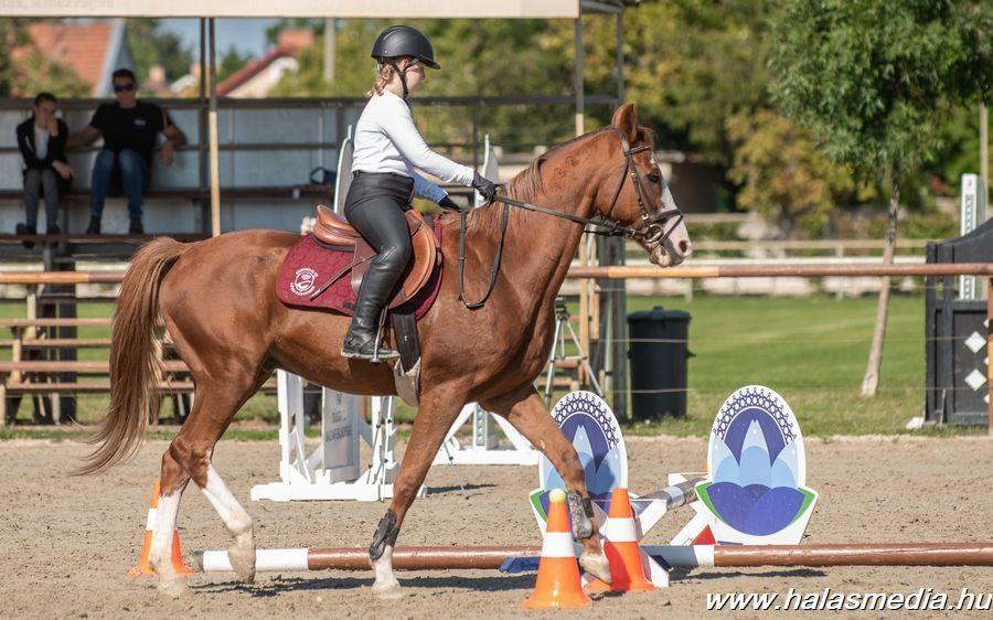 Sok induló, halasi sikerek a szabadidős lovas versenyen (galéria)