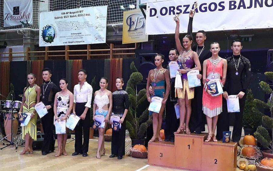Világbajnokságon táncoltak