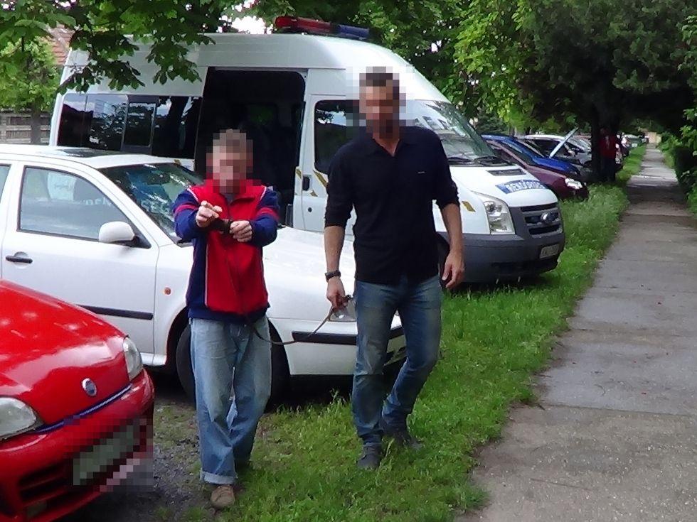 Péter a Széchenyi utcai késes támadó (videóval)