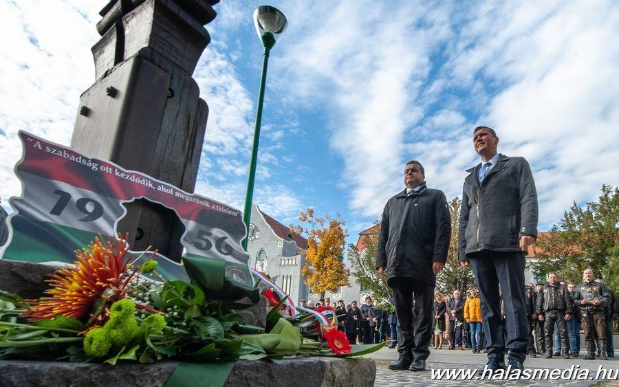 Méltó 56-os megemlékezés, Bányai Gábor átvette díszpolgári címét (galéria)