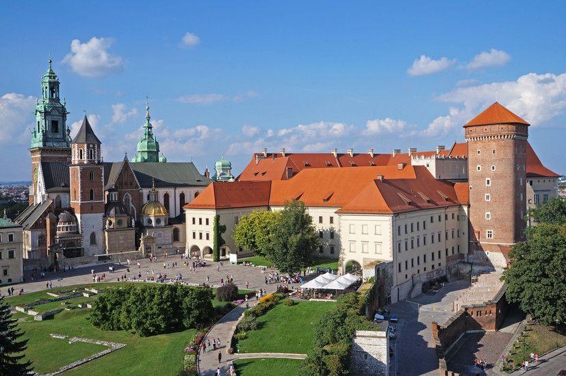 A Wawelben énekel a halasi kórus